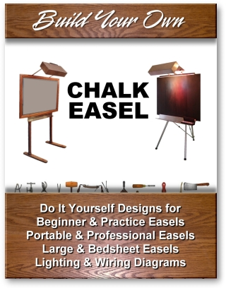 Build Your Own Chalk Easel